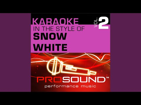 One Song (Karaoke Instrumental Track) (In the style of Snow White)