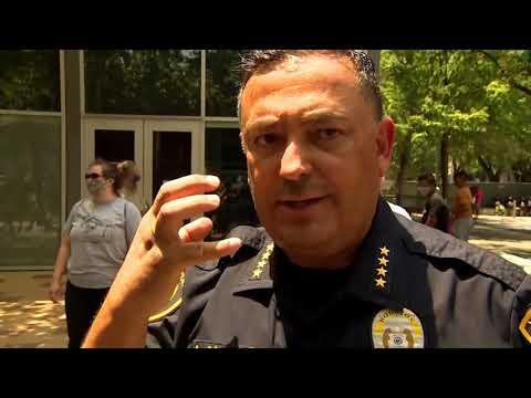 Houston Police Chief, Art Acevedo, on keeping the peac