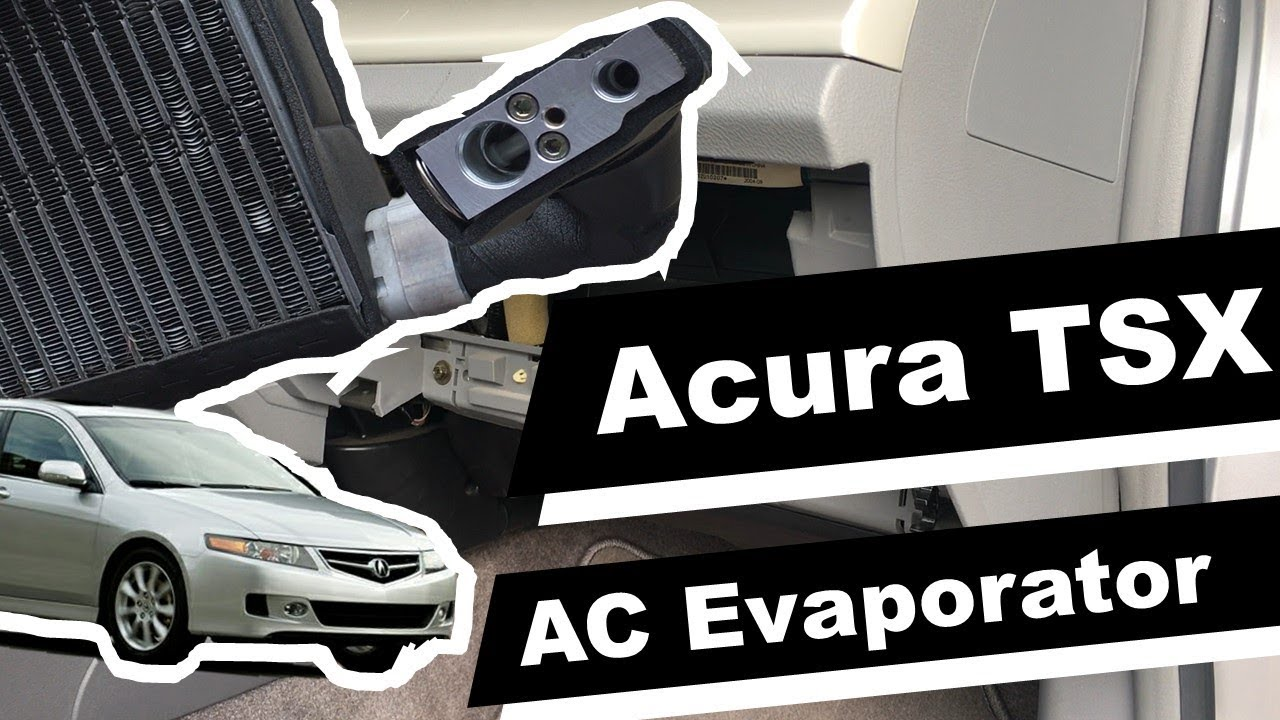 how to replace ac evaporator and ac expansion valve on 2007 acura tsx diy  instructions - youtube  youtube