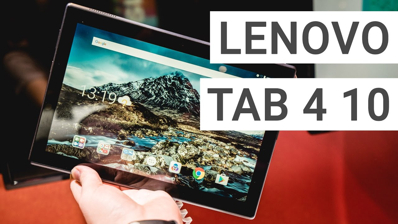 Lenovo Tab 4 10 Hands On: How good is this cheap tablet?