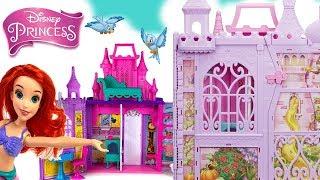 Disney Princess  Zamek księżniczek  Jasmine, Bella, Ariel, Belle, Snow White, Cinderella, Aurora