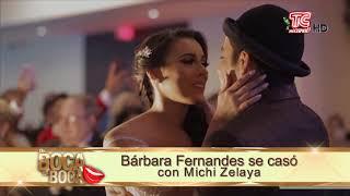 Bárbara Fernandes, hija de Marián Sabaté se casó
