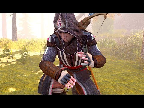 assassin's-creed-3-remastered-aguilar-outfit-&-hunting-bobcats-,-bears-pc-gameplay-ultra-settings