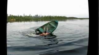 прикол на лодке
