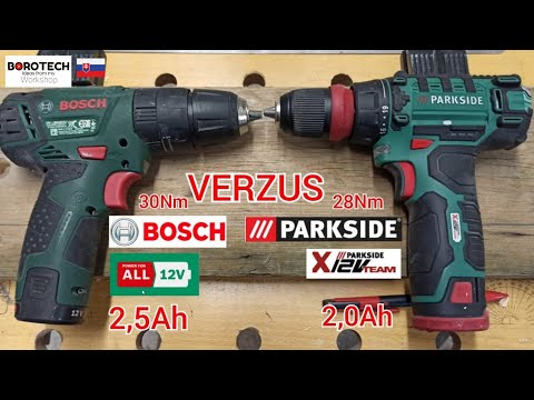 PARKSIDE/® Accuschroefboormachine PBSA 12 D3 12 V