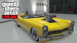 GTA 5 Online - How to Find the Pimp Car (Vapid Peyote)