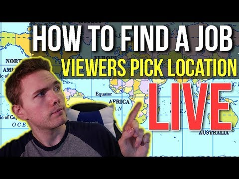 🔴 How To Find A Job - NOW ON TWITCH | @joshuafluke Everywhere