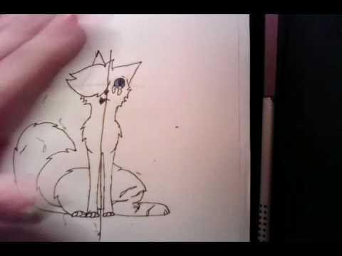 Warrior Cats Zeichnen Rußpelz Teil 2 Youtube