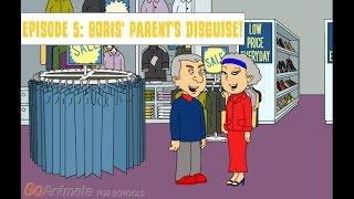 future life for caillou  episode 5 boris parents disguise