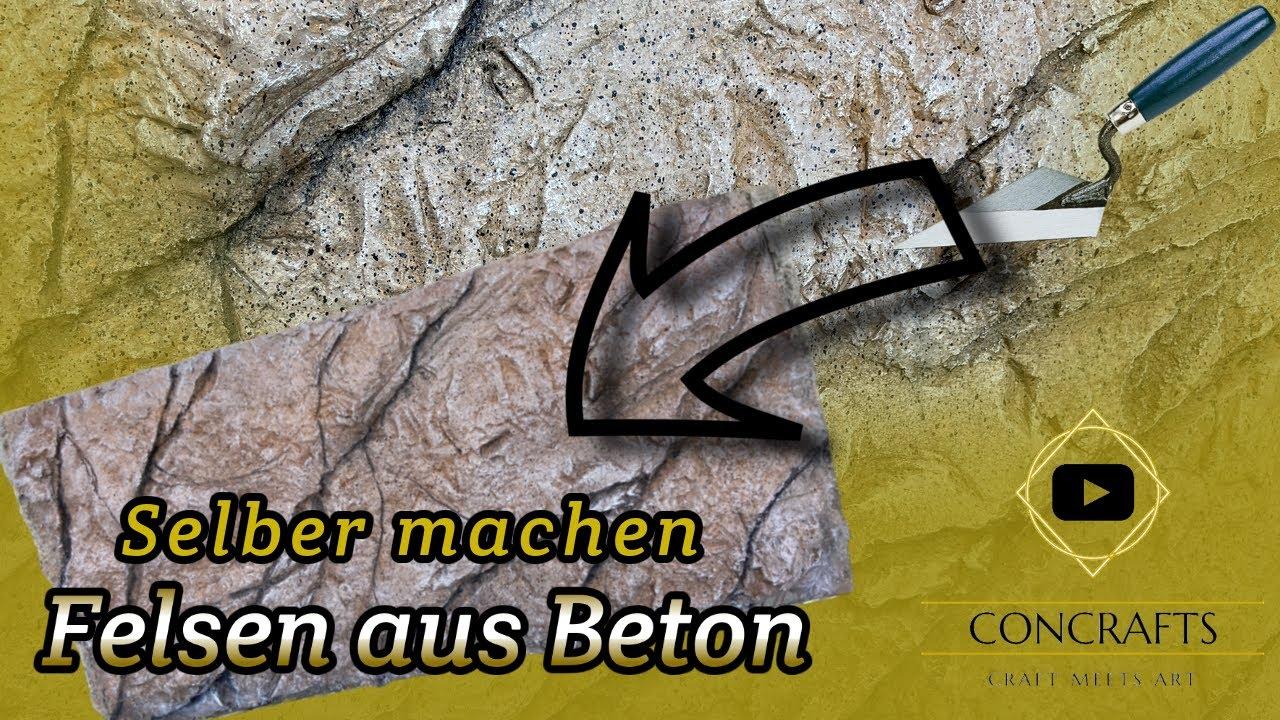 Download Felsen aus Beton | Fassadengestaltung rustikal (Anleitung)