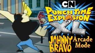 Johnny Bravo - Cartoon Network: Punch Time Explosion XL