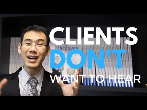 Clients Don't Want To Hear What's Best For Them, Instead... - Vancouver Real Estate - Gary Wong