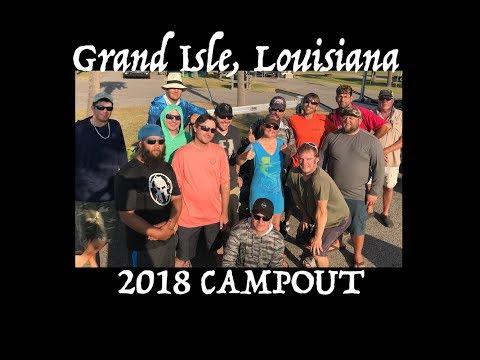 Grand Isle 30mo 1st Annual Campout - Kayak fishing Louisiana