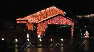 Christmas Lights to Trans Siberian Orchestra - 125,000 Lights!