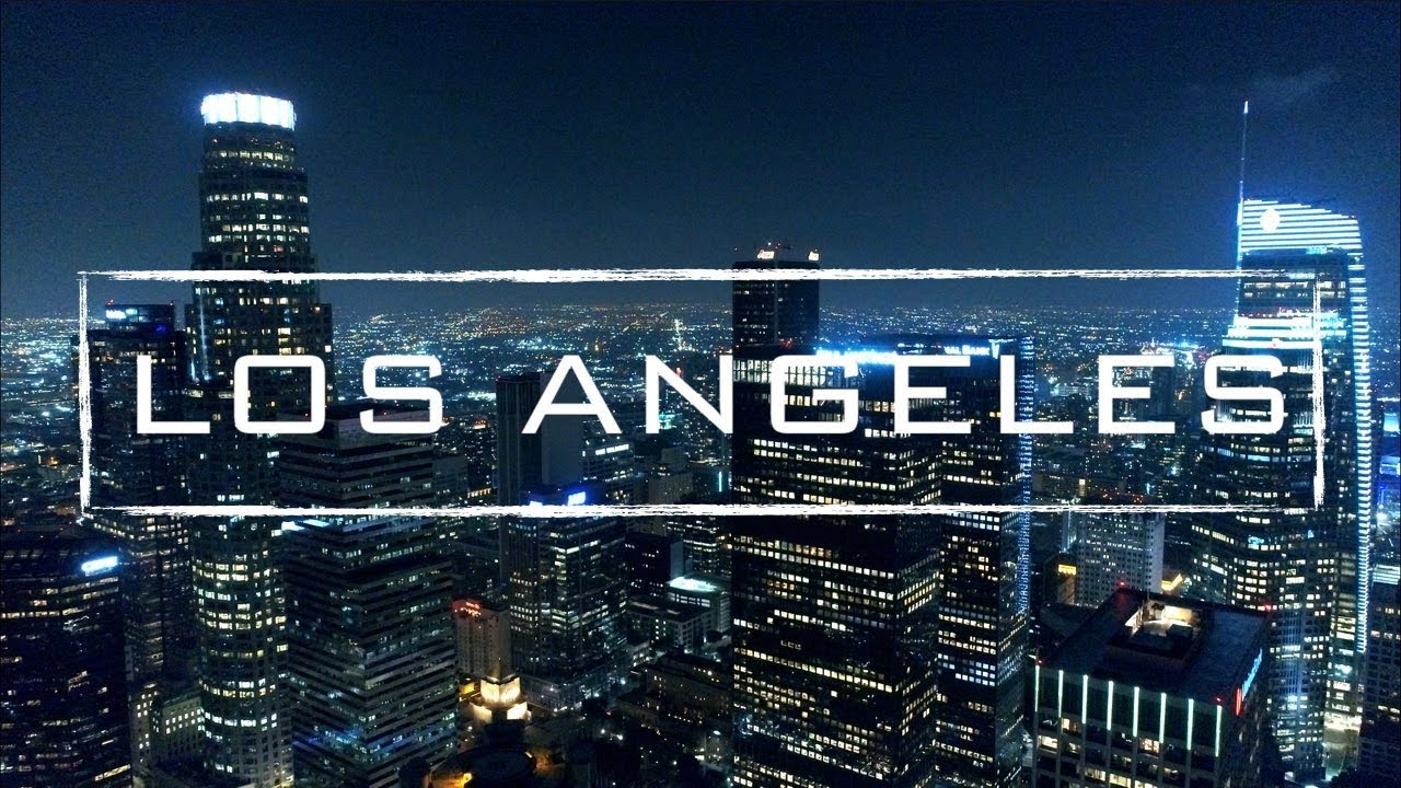 Los Angeles By Night | 4K Drone Video