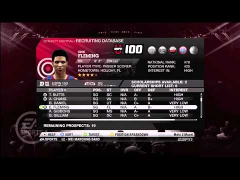 Ncaa Basketball 12 : Create a Dynasty ft. Cincinnati Bearcats - Road to the Championship Ep. 1