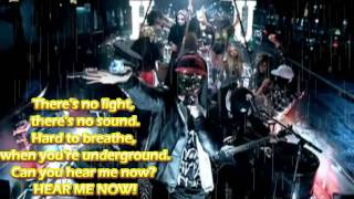 Hollywood Undead - Hear Me Now Official Instrumental Lyrics FULL HD