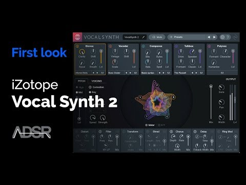 iZotope Vocal Synth 2 - First Look