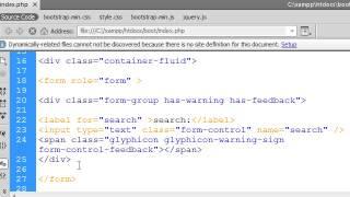 دورة bootstrap:الدرس الثامن: التحكم فى طول وعرض ال inputs ب bootstrap