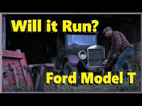 Will It Run? Episode 23: 1926 Ford Model T! First Start In 50 Years...