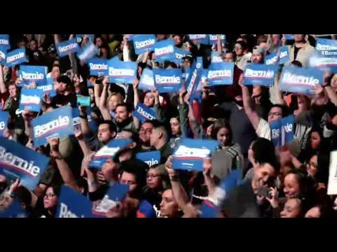 Bernie Sanders rally, From YouTubeVideos