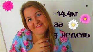 МИНУС 14.4КГ ЗА 7 НЕДЕЛЬ/ОНЛАЙН ДНЕВНИК