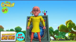 Character changing machine - Motu Patlu in Hindi - 3D Animated cartoon series for kids - As on Nick