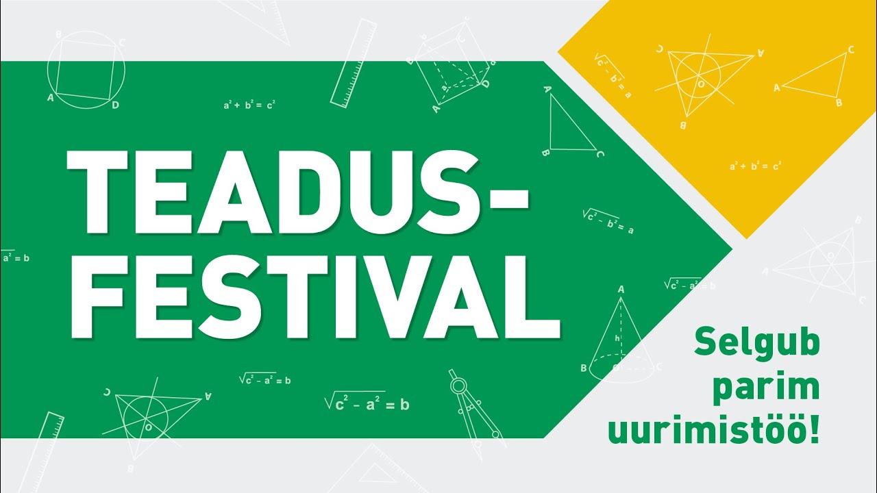 Teadusfestival - Tallinna Tehnikakõrgkool, 06.05.2021