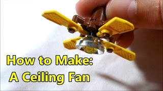 Ceiling fan incident clip how to make a lego scale ceiling fan mozeypictures Gallery