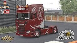 [ETS2 v1.36] Scania Next Gen Griffin Style *SkinWork*