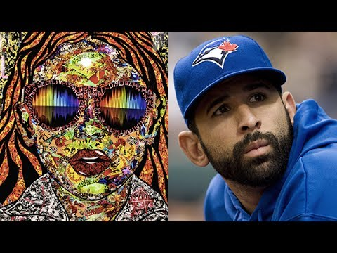 Jose Bautista on his new favourite artist Daniel Mazzone