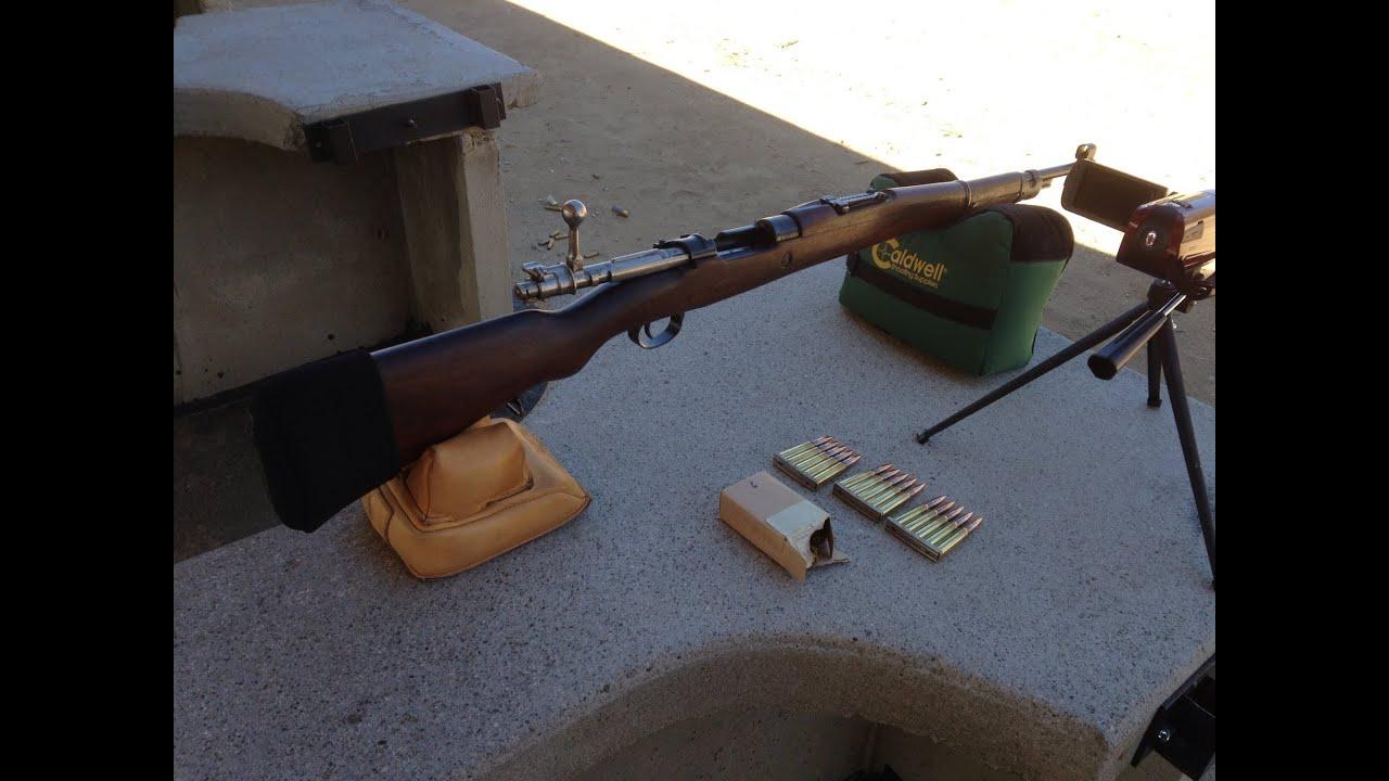 8mm Mauser Ammo Test & Range Report
