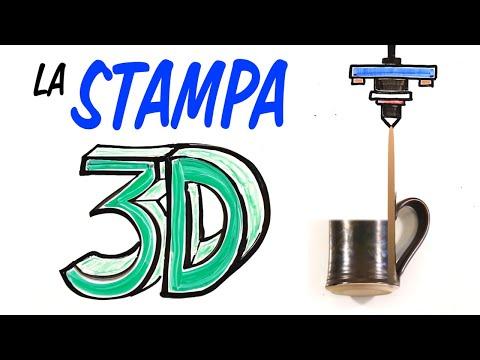 Come funziona la STAMPA 3D?