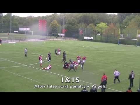 Junior Football 2013 Brussels Black Angels v. Puurs Titans