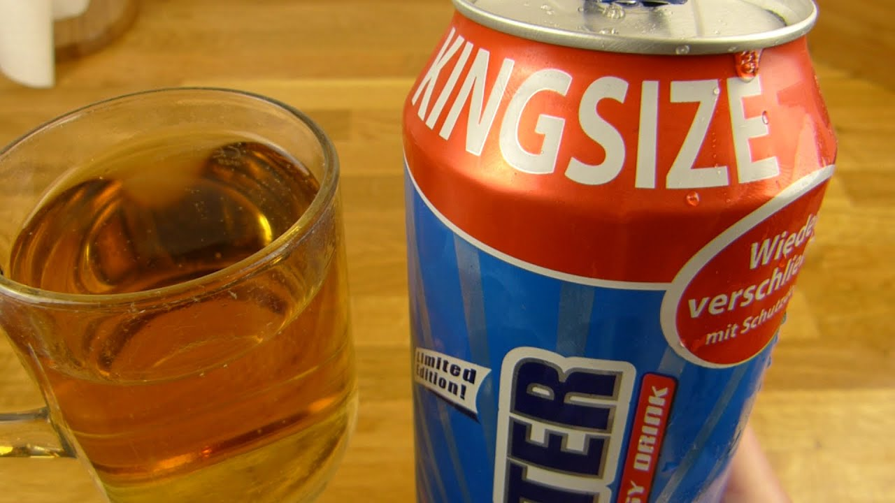 Booster Classic KINGSIZE Energy Drink - YouTube