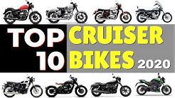 TOP 10 Cruiser Bikes in India 2020 || Best Cruiser 2020 Updated