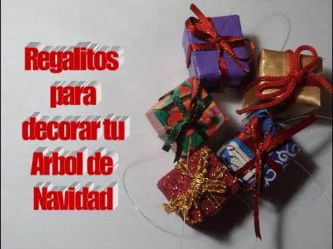 regalitos para decorar tu arbol de navidad