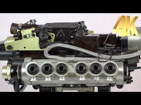 Junkers V12 fuel injection pump (JUMO 211) | 4K