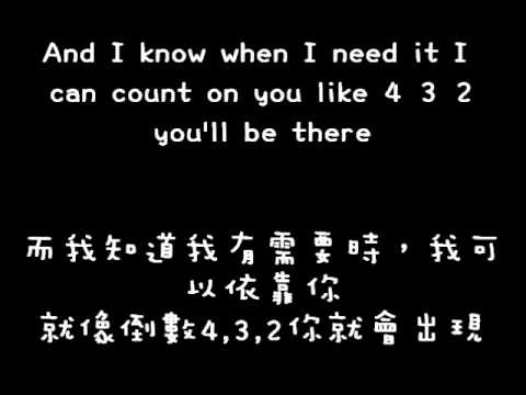 Connie Talbot-count on me中英歌詞