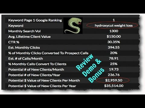 Serpinatr Review Demo Bonus - Land High Paying Clients by Proving ROI