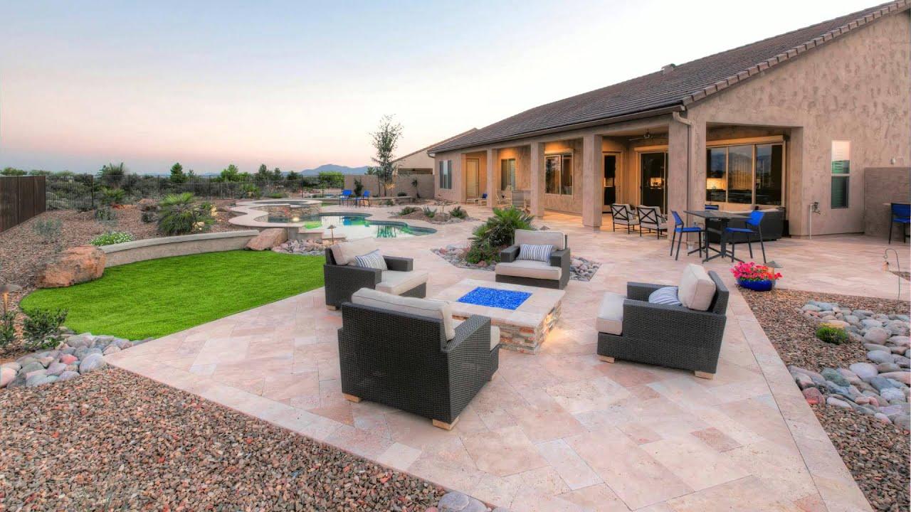 Landscape Design Saddlebrooke Ranch Arizona - YouTube