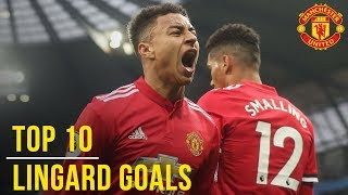 Jesse Lingard39s Top 10 Goals  Manchester United  England World Cup 2018 Squad