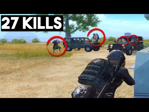 SOLO VS TOP SQUAD PLAYERS | 27 KILLS | PUBG Mobile