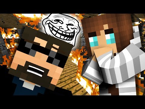 WHAT IS MINECRAFT BURNING THEIR HOUSE?! #4
