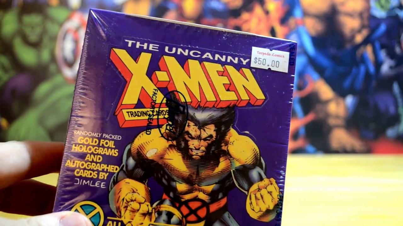 "NEW UNOPENED PACK X-MEN  /"" WOLVERINE /"" MARVEL COMICS 1992"