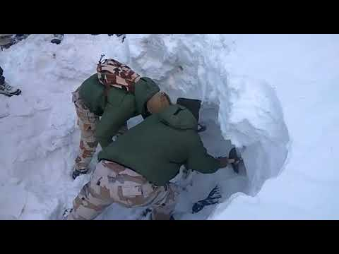 itbp soldier found in ice berg youtube