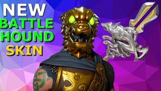 FORTNITE *NEW* BATTLE HOUND SKIN & SILVER FANG PICKAXE!