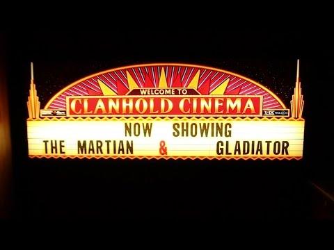 Clanhold Cinema Walkthrough  with Kodi & CinemaVision Demo