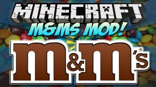 Minecraft | M&Ms MOD! | Eat them in your game! [1.4.7]