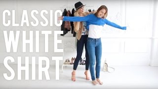 видео C чем носить рубашку женскую? 132 фото джинсовых, клетчатых рубашек с юбкой и джинсами